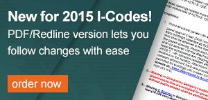 2015 I-Code Redline