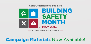 2013 Building Safety Month
